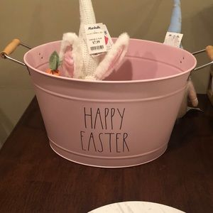 Rae Dunn HAPPY EASTER  pail